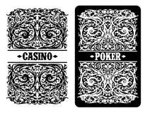 Projeto da propaganda do casino Imagens de Stock Royalty Free