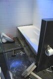 Projeto da renovação do banheiro Imagem de Stock Royalty Free