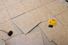 Projeto da telha Fotos de Stock
