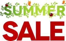 Projeto da venda do verão Foto de Stock Royalty Free