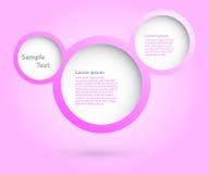 Projeto das bolhas. Imagem de Stock