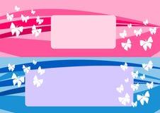 Projeto das borboletas Fotos de Stock