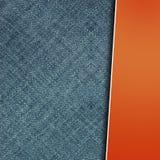 Projeto das calças de brim Fotos de Stock Royalty Free
