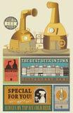 Projeto das cervejas Fotos de Stock Royalty Free
