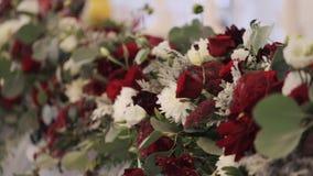 Projeto das decorações do casamento vídeos de arquivo