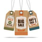 Projeto das etiquetas da venda ilustração stock