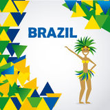 Projeto de Brasil Fotos de Stock Royalty Free