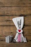 Projeto de cartão do menu para Valentim, casamento ou festa de anos no re Imagem de Stock