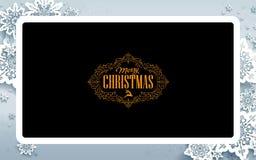 Projeto de cartão do Natal ilustração stock