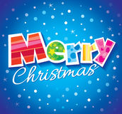 Projeto de cartão do vetor do Natal Imagens de Stock