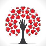 Projeto de cartão feliz do dia de Valentim Imagem de Stock Royalty Free
