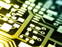Projeto de circuito Imagem de Stock Royalty Free
