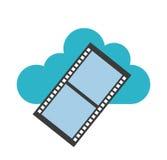 Projeto de computação da nuvem Imagens de Stock Royalty Free