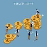 Projeto de conceito do investimento Imagem de Stock Royalty Free