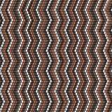Projeto de confecção de malhas do teste padrão da viga Projeto de tecelagem do ofício do fio morno das cores fotos de stock