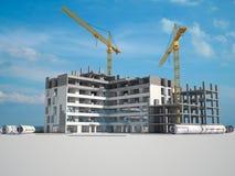 Projeto de constru??o ilustração royalty free