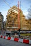 Projeto de desenvolvimento da construção de Tate Modern Foto de Stock Royalty Free
