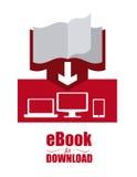 Projeto de EBook Imagem de Stock Royalty Free