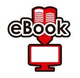 Projeto de EBook Fotografia de Stock