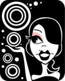 Projeto de Girly Ilustração Stock