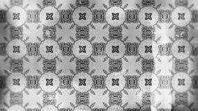 Projeto de Grey Vintage Ornament Wallpaper Pattern ilustração do vetor