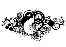 Projeto de Grunge ilustração stock