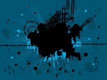 Projeto de Grunge ilustração do vetor