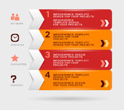 Projeto de Infographic Imagens de Stock Royalty Free
