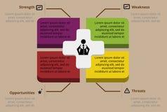 Projeto de Infographic Fotos de Stock