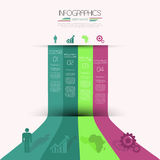 Projeto de Infographics. Imagens de Stock Royalty Free