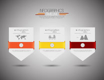 Projeto de Infographics Imagens de Stock Royalty Free
