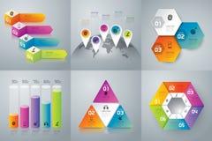 Projeto de Infographics ilustração stock