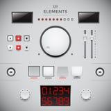 Projeto de interface de utilizador. GUI Foto de Stock