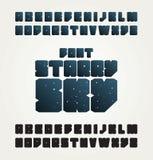 Projeto de letras do alfabeto do vetor Imagens de Stock Royalty Free
