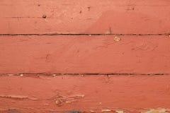 Projeto de madeira vermelho velho do texturefor das pranchas Vista superior imagem de stock