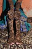 Projeto de Mehndi para recentemente a noiva imagens de stock royalty free