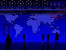 Projeto de negócio conceptual Fotografia de Stock
