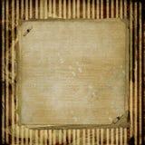 Projeto de papel alienado Grunge Fotografia de Stock