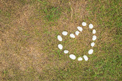 Projeto de pedra para a textura do coração Fotografia de Stock Royalty Free