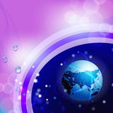 Projeto de rede global Foto de Stock