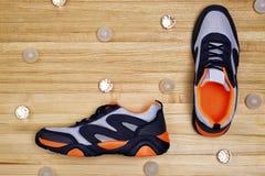 Projeto de sapatas dos esportes Imagem de Stock