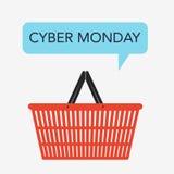Projeto de segunda-feira do Cyber ilustração royalty free