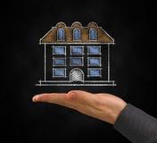 Projeto de uma casa Imagem de Stock Royalty Free
