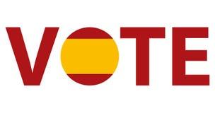 Projeto de votação do vetor dos símbolos ilustração do vetor