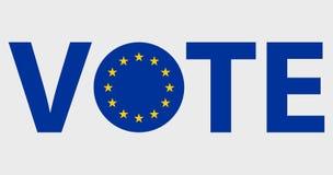 Projeto de votação do vetor dos símbolos ilustração royalty free