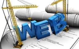 Projeto de Web Imagens de Stock