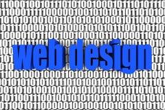 Projeto de Web ilustração do vetor