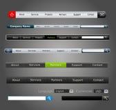 Projeto de Web dos elementos do vetor Imagem de Stock Royalty Free