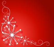 Projeto decorativo 2 do floco de neve ilustração royalty free