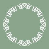 Projeto decorativo do círculo Fotos de Stock Royalty Free